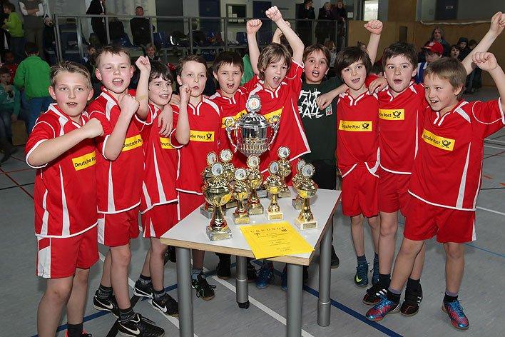Handballturnier der Wiehler Grundschulen