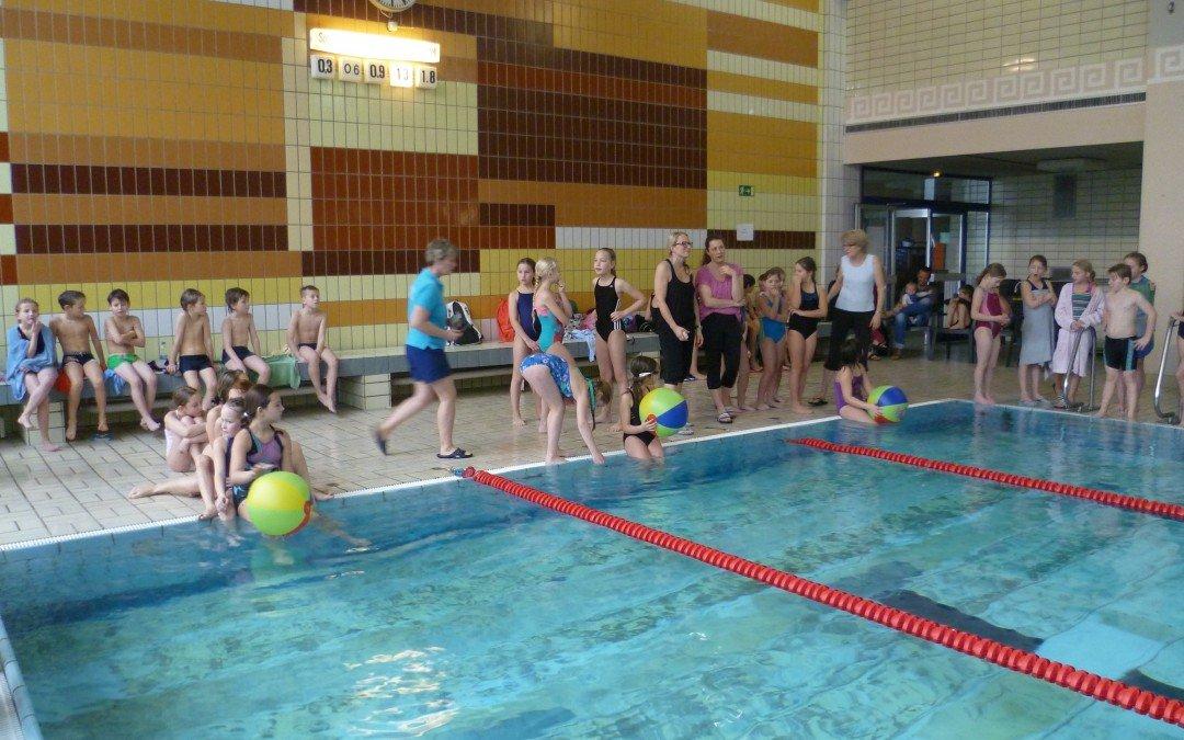 Neuer Schwimmwettbewerb kam gut an