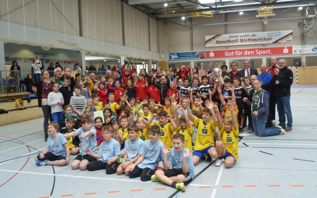 Tolle Stimmung beim Grundschul-Handballturnier